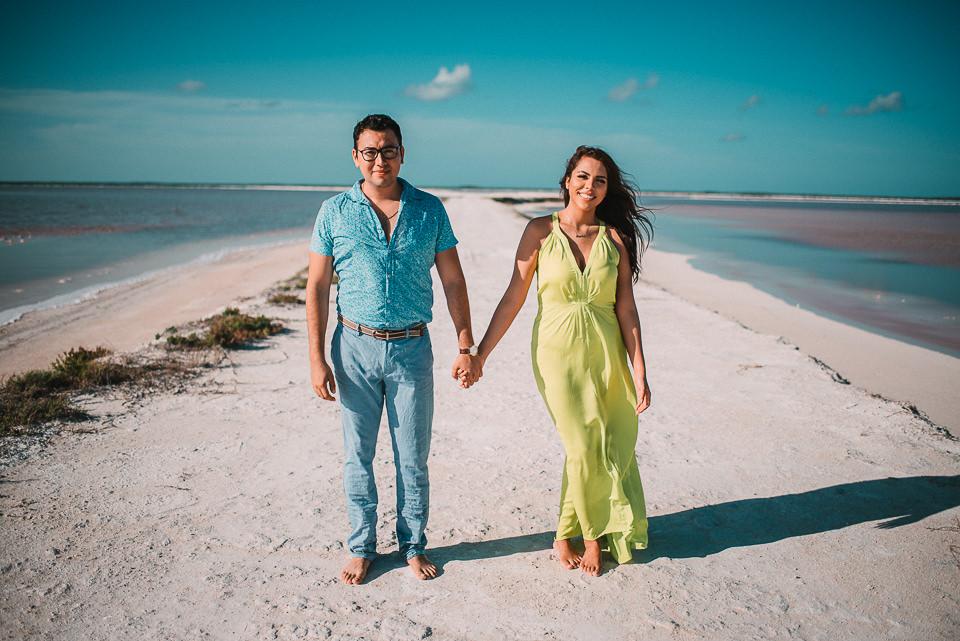 Las Coloradas Yucatan Miguel Y Arylu Fotografo De