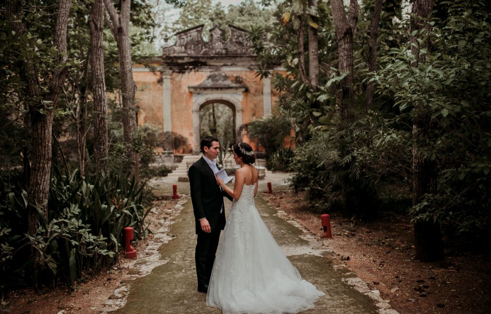 Hacienda Uayamon, Campeche: Ana Lia & Juan Carlos