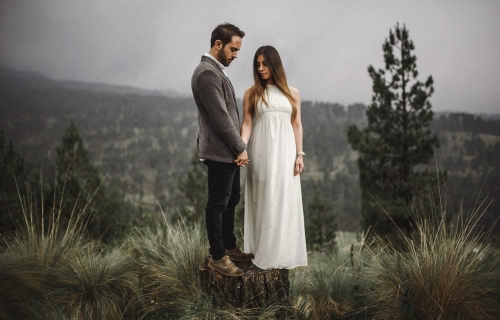 Mexico Wedding Photographer, Nevado de Toluca,