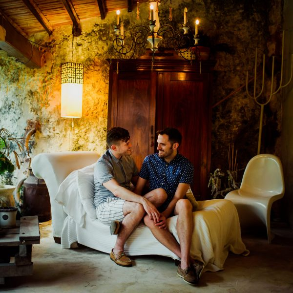 Hotel Puertas Campeche // Engagement Session: Chris & Gabe