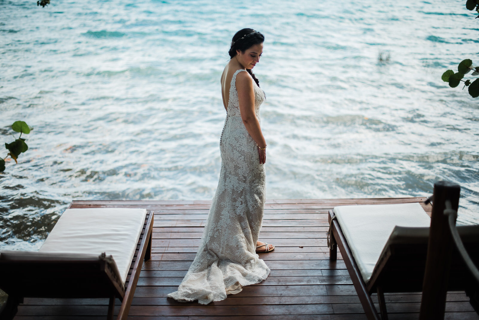 Bride in Bacalar