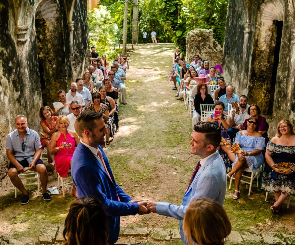 Hacienda Uayamon Wedding   Two boys Wedding: Chris & Gabe